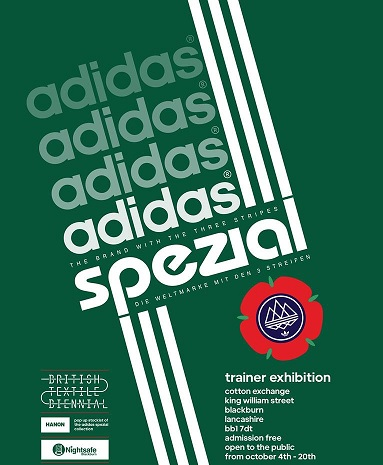 coupon codes shop new lifestyle Adidas Spezial trainers exhibition announced for Blackburn ...