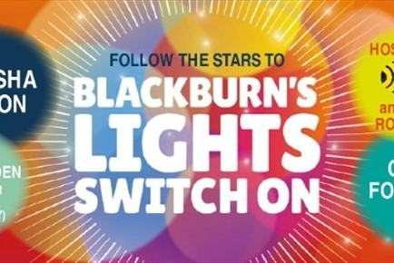 Blackburn Christmas Lights Switch On 2015