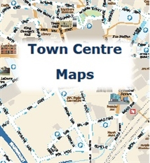 Blackburn & Darwen Town Centre Maps to download