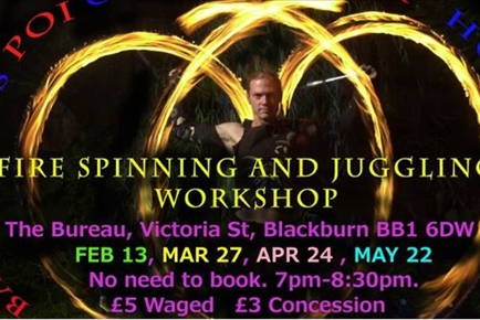 Fire Spinning and Juggling Workshop